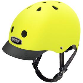 Nutcase Street casco per bici giallo